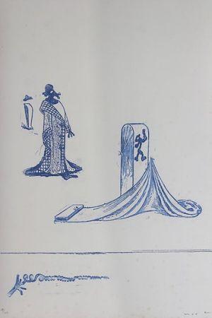 Литография Ernst - Max Ernst (1891-1976). Décervelages, Jarry. 1971. Signé