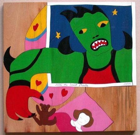 Нет Никаких Технических De Saint Phalle - Mechant Mechant Puzzle