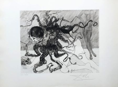 Гравюра Dali - Medusa
