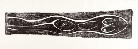 Гравюра На Дереве Penck - Meer (Sea)