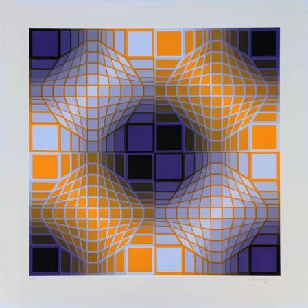 Сериграфия Vasarely - Mely