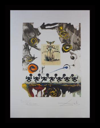 Гравюра Dali - Memories of Surrealism Surrealist Gastronomy Trial Proof