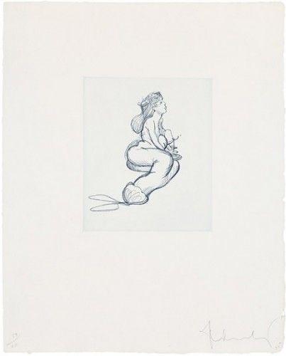 Гравюра Oldenburg - Mermaid