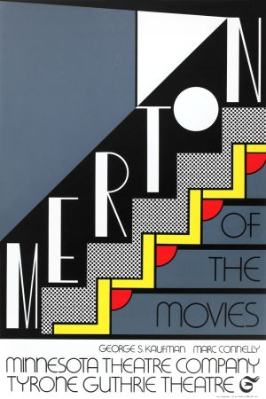 Сериграфия Lichtenstein - Merton of the Movies