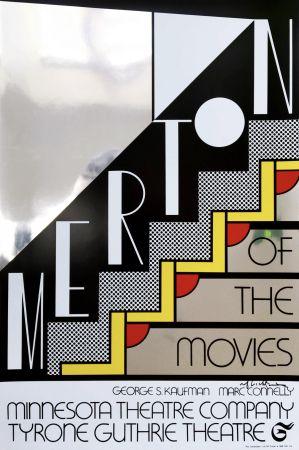 Сериграфия Lichtenstein - Merton Of The Movies Poster (Hand Signed)