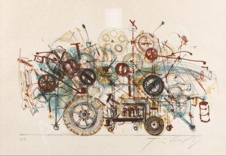 Литография Tinguely - Meta-Machine
