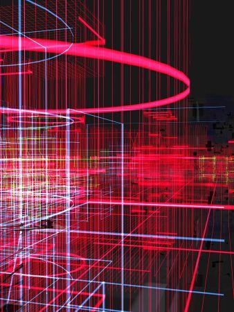 Многоэкземплярное Произведение Chevalier - Meta cités filaire rouge
