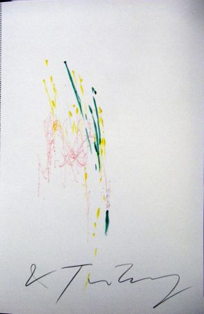 Монотип Tinguely - Meta Matic No6