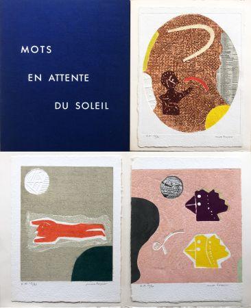 Карборунд Papart - Michel Bohot : MOTS EN ATTENTE DU SOLEIL (1977).