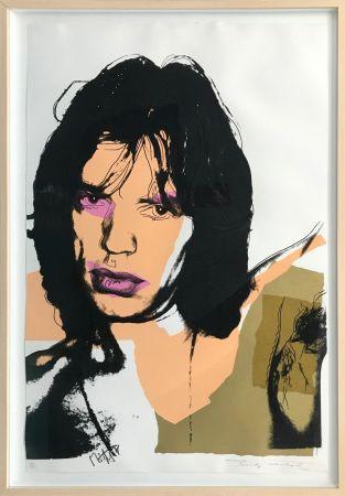 Сериграфия Warhol - MICK JAGGER FS II.141