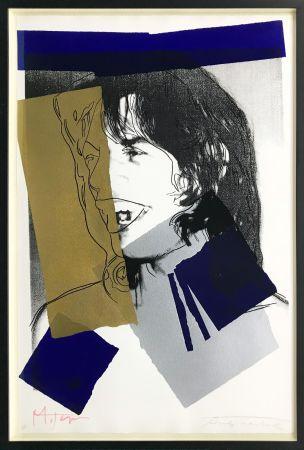 Сериграфия Warhol - MICK JAGGER FS II.142
