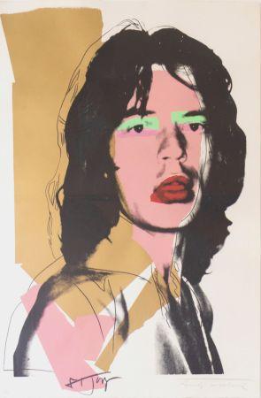 Сериграфия Warhol - Mick Jagger (FS II.143)