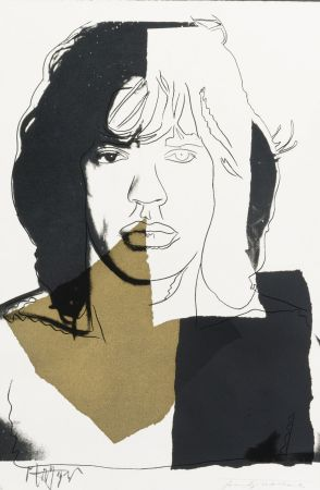 Сериграфия Warhol - Mick Jagger (FS II.146)