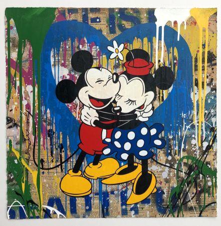 Многоэкземплярное Произведение Mr Brainwash - Mickey & Minnie