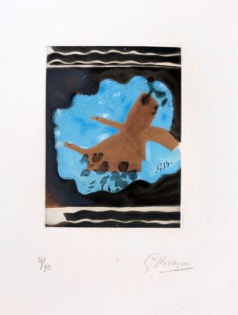 Офорт Braque - Migration