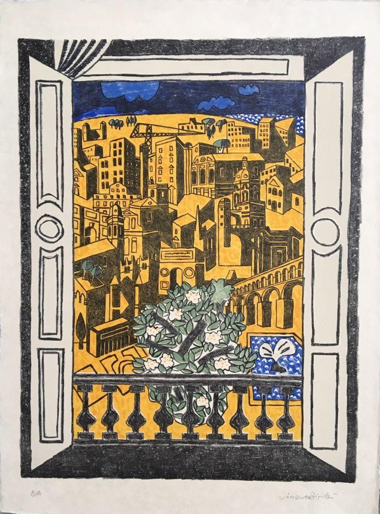 Литография Bioulès - Millénaire de Montpellier