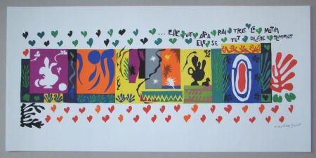 Литография Matisse - Mille et une Nuits, 1950
