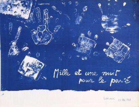 Литография Cremonini - Mille et une nuits pour le pavé