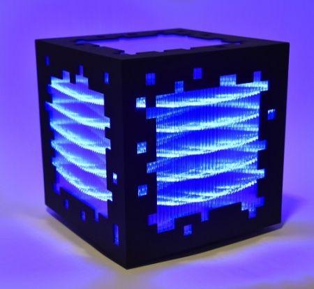 Гравюра На Дереве Chevalier - Mini voxels light blue