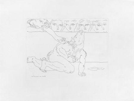 Нет Никаких Технических Picasso - Minotaure mourant et jeune fille pitoyable
