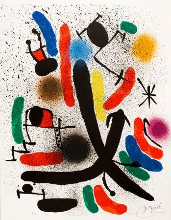Литография Miró -  Miró lithographe I (Maeght 855)