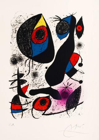 Литография Miró -   Miro a L'Encre