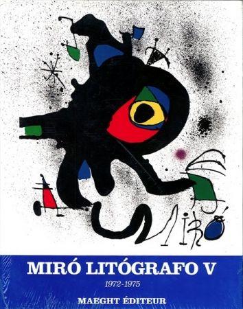 Иллюстрированная Книга Miró - MIRO LITHOGRAPHE V