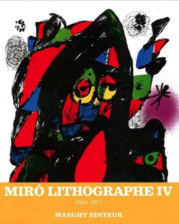 Нет Никаких Технических Miró - MIRO LITOGRAFO IV