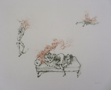 Гравюра Bellmer - Miroir Des Songes Pl.12