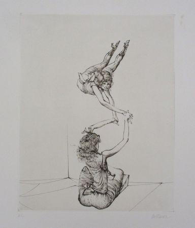 Гравюра Bellmer - Miroir Des Songes Pl.6