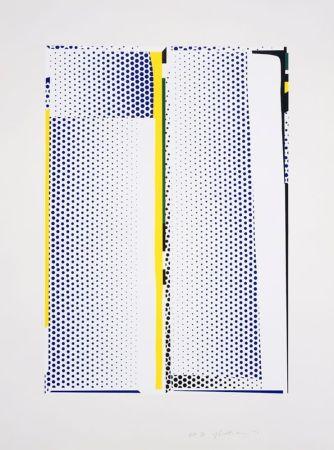 Сериграфия Lichtenstein - Mirror #9