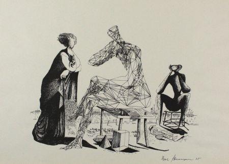Литография Zimmermann - Mittag
