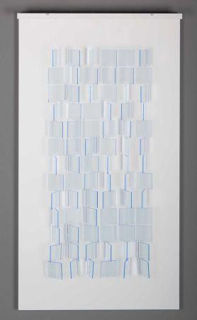 Многоэкземплярное Произведение Le Parc - Mobile Translucide Bleu