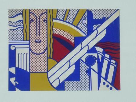 Сериграфия Lichtenstein - Modern Art Poster,1967