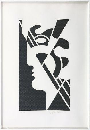 Многоэкземплярное Произведение Lichtenstein - MODERN HEAD #5