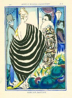Иллюстрированная Книга Bonfils - MODES ET MANIÈRES D'AUJOURD' HUI. Neuvième Année. 1920