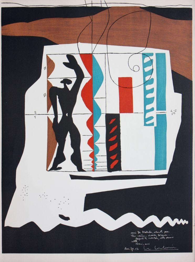 Литография Le Corbusier - Modulor