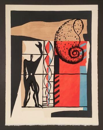 Литография Le Corbusier - Modulor (1955)