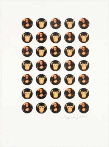 Литография Leirner - Mona Mona
