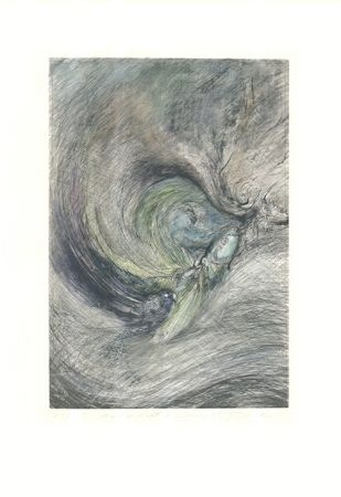 Гравюра Tschermak - Mondgedicht