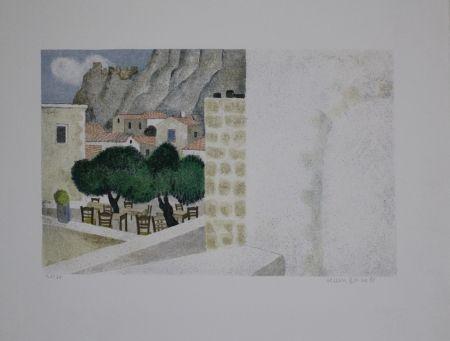 Литография Breiter - Monemvasia