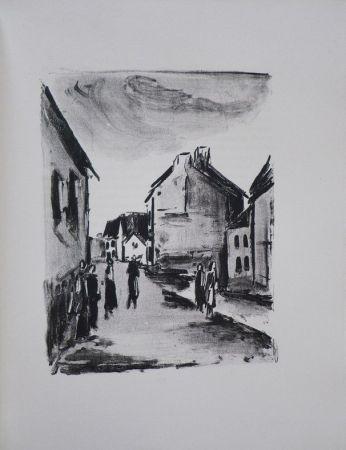 Иллюстрированная Книга Vlaminck - Mont-Cinère.  Lithographies de Vlaminck.