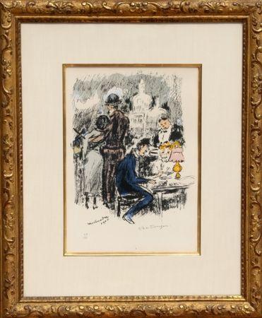 Литография Van Dongen - Montmartre 1900