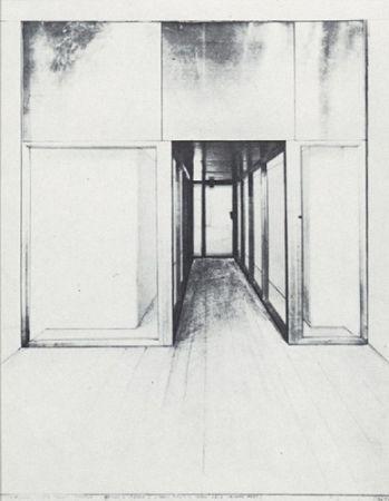 Сериграфия Christo - Monuments, Store Front Corridor
