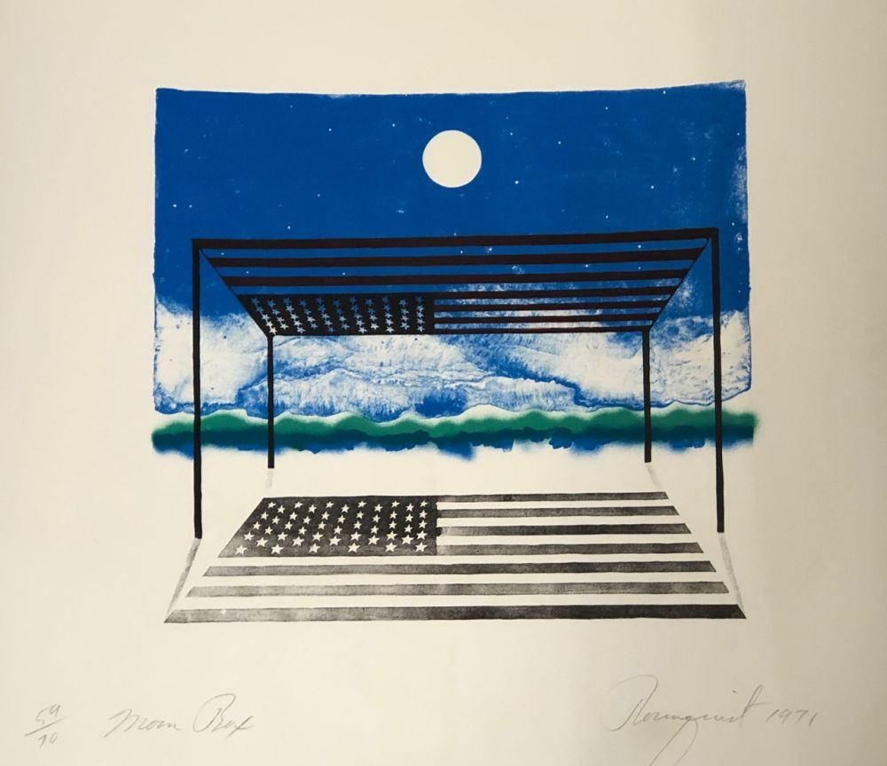 Литография Rosenquist - Moon box