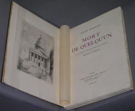 Иллюстрированная Книга Asselin - Mort de quelqu'un