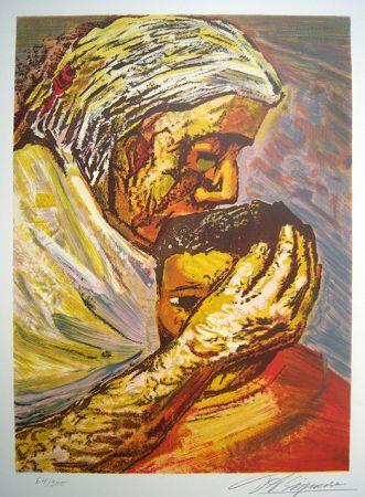 Литография Siqueiros - Mother and Child