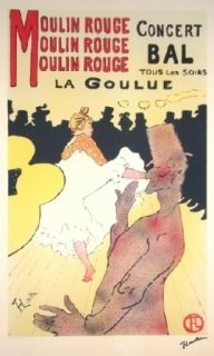 Литография Toulouse-Lautrec - Moulin Rouge