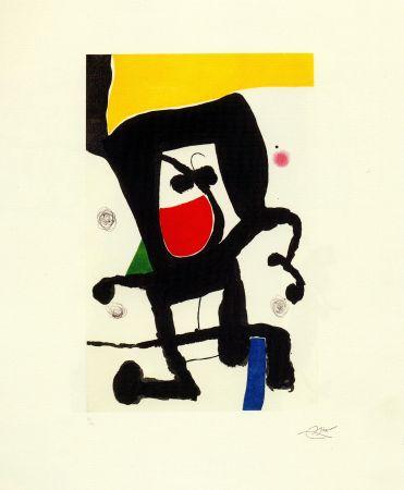 Гравюра Miró - Mousse dans les cordages