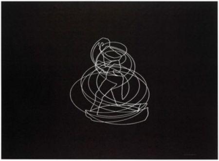 Литография Paris - Movimiento afectado 1